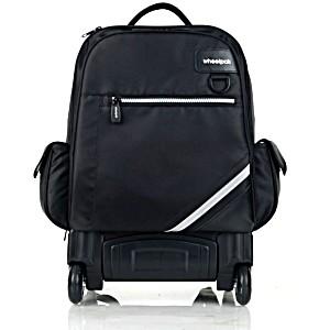 Школьный рюкзак на колесах – ранец Wheelpak Zenith Black – арт. WLP2142 (для 5-7 класса, 25 литр)