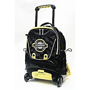 Школьный рюкзак на колесах – ранец Wheelpak Pluto Yellow – арт. WLP2149 (для 0-3 класса, 15 литров)