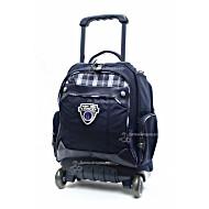 Школьный рюкзак на колесах - ранец Wheelpak Tartan Navy - арт. WLP2136 (для 0-3 класса, 15 литров)