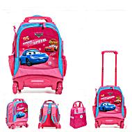 Школьный рюкзак на колесах - ранец Wheelpak Cars Pink - арт. WLP2130 (для 0-3 класса, 15 литров)
