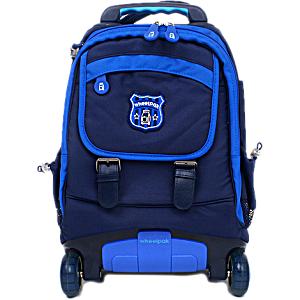 Школьный рюкзак на колесах – ранец Wheelpak Neo Blue – арт. WLP2154 (для 0-3 класса, 15 литров)
