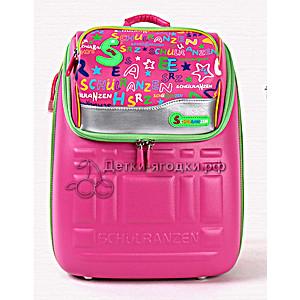 """Школьный ранец-рюкзак """"Schulranzen"""" (Wheelpak) розовый"""
