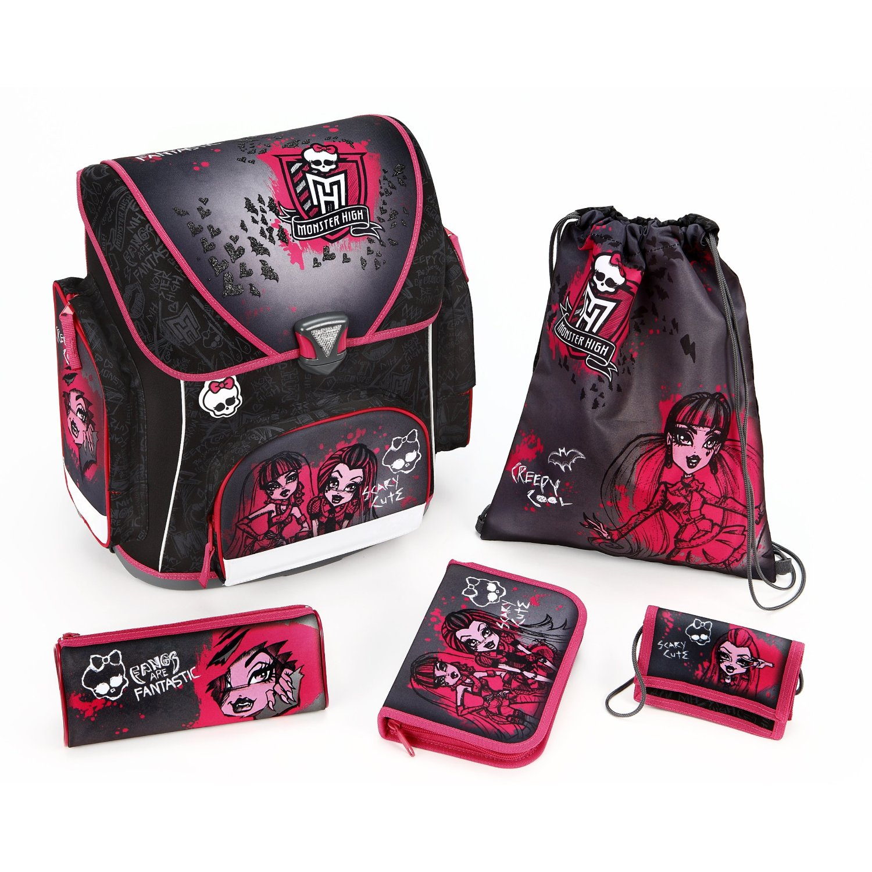 Школьный рюкзак scooli monster high hk13825 рюкзак детский нейлон wing flying 2012 rose