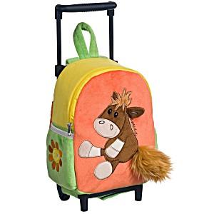 Рюкзак детский на колесах для малышей Heunec Лошадка