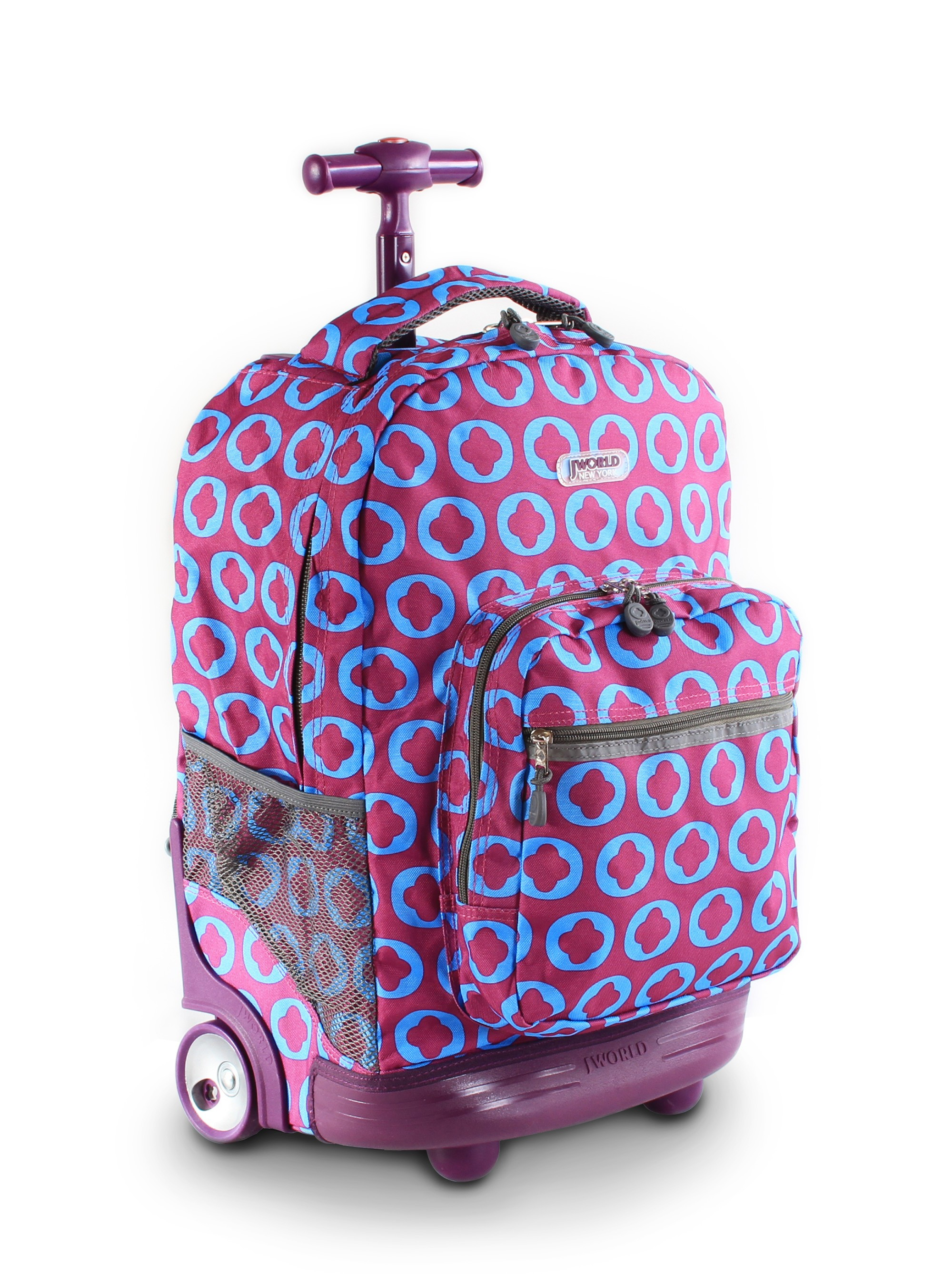 Школьный рюкзак на колесах jworld рюкзак для ноутбука 15.6 lenovo thinkpad ultra корпус formula fm-51