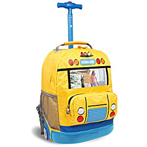 Универсальный/школьный рюкзак на колесах – ранец JWORLD School Bus – арт. KRB003 (17 литров)