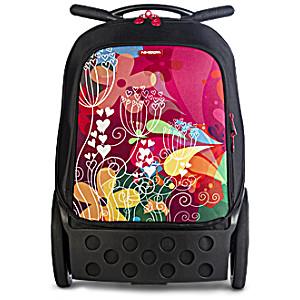 Рюкзак на колесиках Nikidom Цветок арт. 9004 (19 литров) с аксессуарами