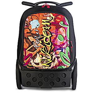 Рюкзак на колесиках Nikidom Граффити арт. 9000 (19 литров)