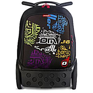 Рюкзак на колесиках Nikidom Дикий Логотип арт. 9006 (19 литров) с аксессуарами