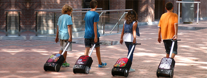 Рюкзак на колесах Nikidom Reef Испания  арт. 9322 (27 литров), - фото 6