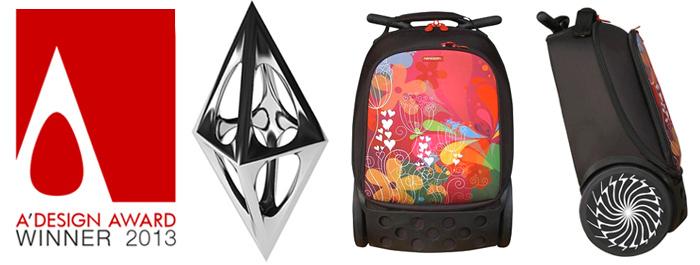 Рюкзак на колесах Nikidom Reef Испания  арт. 9322 (27 литров), - фото 3