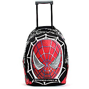 Школьный рюкзак на колесах – ранец Marvel Spider Man (Марвил Человек-паук) арт. 10030
