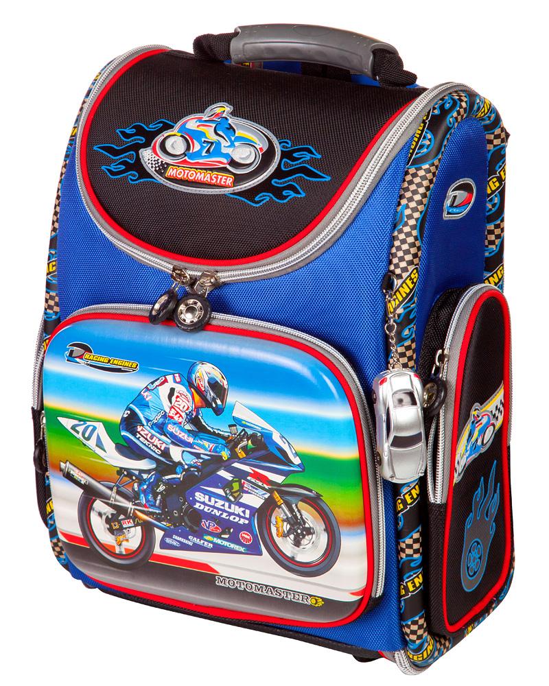 Школьный рюкзак - ранец HummingBird Motomaster K64 с мешком для обуви, - фото 1