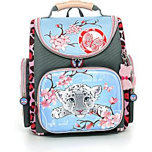 Школьный рюкзак – ранец HummingBird Born to be wild – арт. K37 (с мешком для обуви)