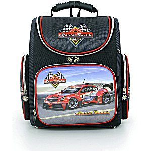 Школьный рюкзак – ранец HummingBird Speed Racer K43 с мешком для обуви