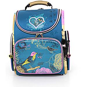 Школьный рюкзак – ранец HummingBird Romantic Birds – арт. K78 (с мешком для обуви)