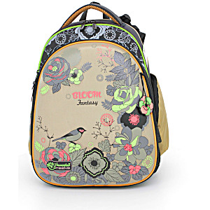 Школьный рюкзак – ранец HummingBird Teens Bloom Fantasy – арт. T38