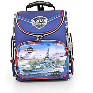 Школьный рюкзак – ранец HummingBird Navy Forces – арт. K73 (с мешком для обуви)
