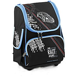 Школьный рюкзак облегченный Mike&Mar Майк Мар Машина арт. 1075-MM-39 + пенал