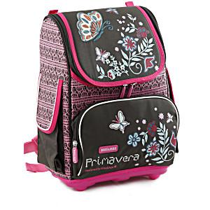 Школьный рюкзак облегченный Mike&Mar Майк Мар Бабочка арт. 1075-MM-46 + мешок для обуви