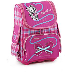 Школьный рюкзак облегченный Mike&Mar Майк Мар Котенок арт. 1075-MM-49 + пенал