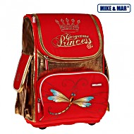 Школьный рюкзак облегченный Mike&Mar Майк Мар Стрекоза арт. 1075-MM-45