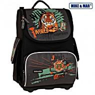 Школьный рюкзак облегченный Mike&Mar Майк Мар Тигр арт. 1075-MM-37 + пенал