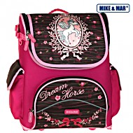 Школьный рюкзак раскладной Mike&Mar Майк Мар Лошадка арт. 1440-ММ-02