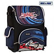 Школьный рюкзак раскладной Mike&Mar Майк Мар Мото арт. 1440-ММ-11 + пенал