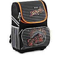 Школьный рюкзак облегченный Mike&Mar Майк Мар Мото арт. 700-ММ-1