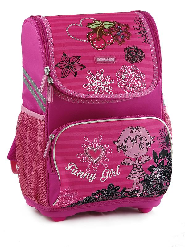 Рюкзаки для девочек mike mar рюкзаки черные с шипами
