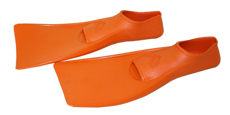SwimSafe оригинал Ласты детские каучуковые для бассейна размер 30-33 оранжевые СВИМСЕЙФ - Германия, - фото 2