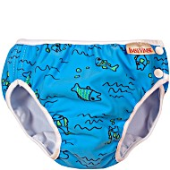 Детские непромокаемые трусики для бассейна Imsevimse Рыбы Голубые