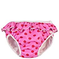Детские непромокаемые трусики для бассейна Imsevimse Полька Дот Розовые