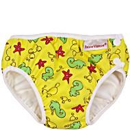 Детские непромокаемые трусики для бассейна Imsevimse Морские Коньки Желтые