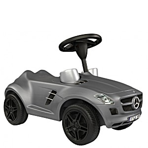 Машинка-каталка Мерседес Benz SLK Big SLK-BOB-BY-Benz металлик