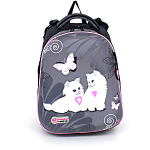 Школьный рюкзак – ранец HummingBird Teens Котята – арт. T49