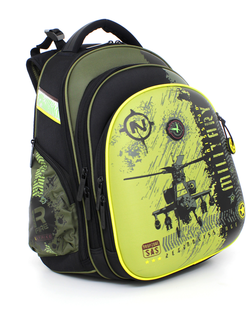 Школьный рюкзак hummingbird mission military 1075-мм-33 рюкзак футбол черн/красн h36