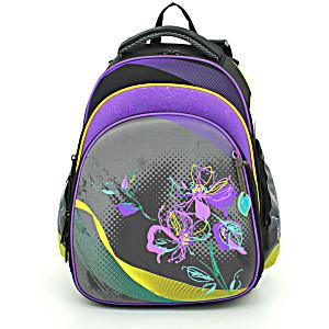 Школьный рюкзак – ранец HummingBird Teens Фиолетовые Цветы – арт. T48