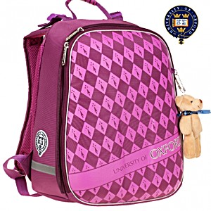 Рюкзак школьный OXFORD Оксфорд фиолетовый 1008-ОХ-2