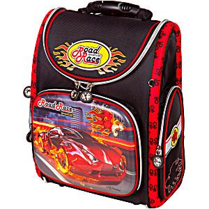 Школьный рюкзак – ранец HummingBird RoadRace K32 с мешком для обуви