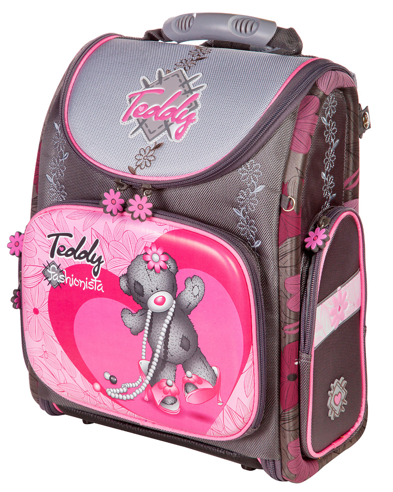 f8b3ba4036e6 Школьный рюкзак - ранец HummingBird Teddy K92 с мешком для обуви, - фото 1