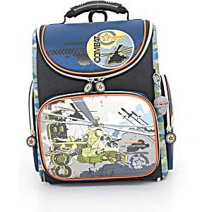 Школьный рюкзак – ранец HummingBird Combat Helicopters – арт. K63 (с мешком для обуви)