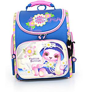 Школьный рюкзак – ранец HummingBird Fashion Bunnies – арт. K65 (с мешком для обуви)