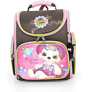 Школьный рюкзак – ранец HummingBird Fashion Bears – арт. K69 (с мешком для обуви)
