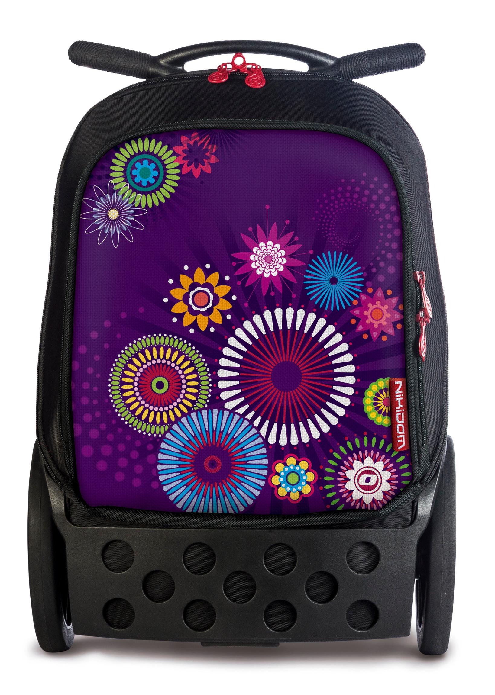 Испанские рюкзаки на колесах маленькие рюкзаки для девушек тряпичные