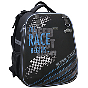 Ранец Майк Мар Rally черный 1008-86 + пенал