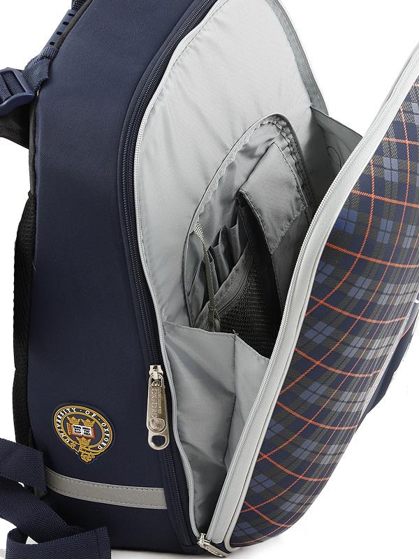 Рюкзак школьный Mike&Mar Майк Мар Машина т.серый 1008-158, - фото 7