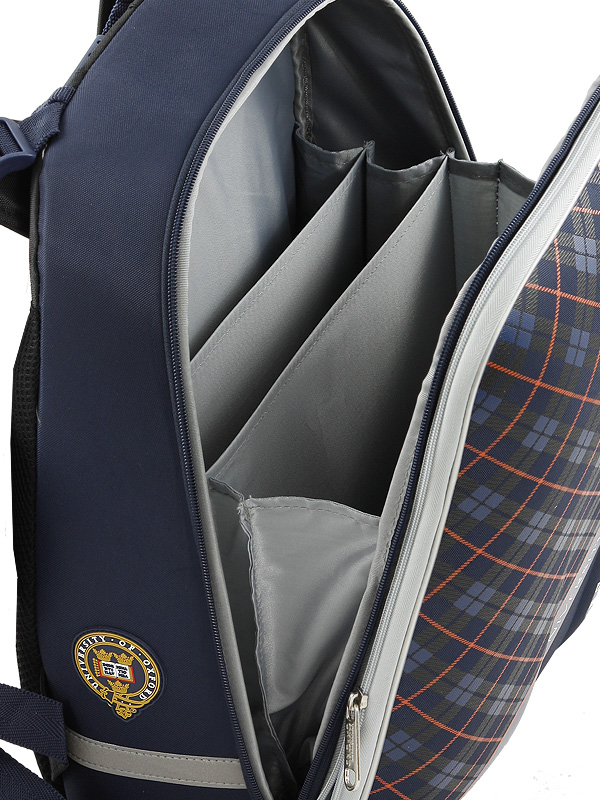 Рюкзак школьный Mike&Mar Майк Мар Машина т.серый 1008-158, - фото 6
