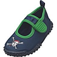 Тапочки детские коралловые Аквашузы для бассейна Playshoes Пират